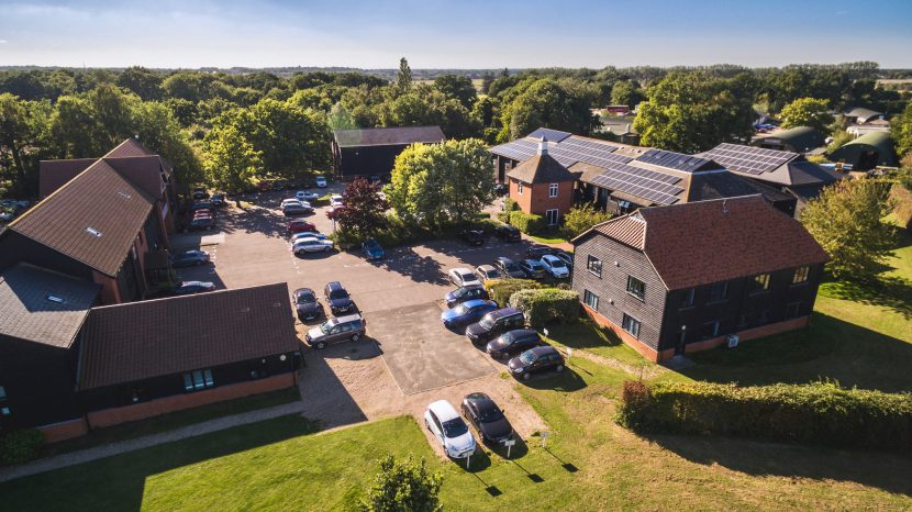 Lodge Park Aerial View