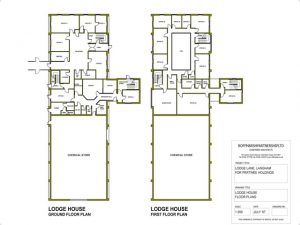 Lodge House - Floor Plan