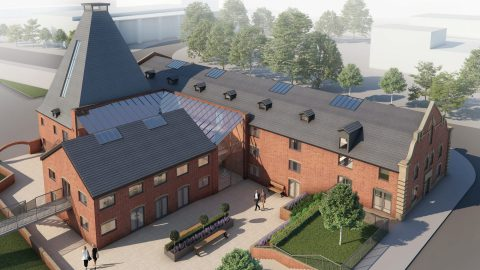 The Maltings CGI View