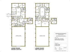 Lodge House - Floor Plan